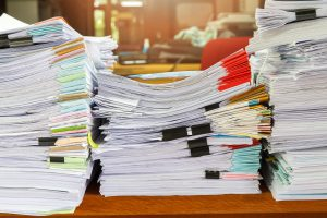 Paper data is difficult to manage