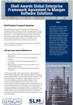 Shell Awards Global Enterprise Framework Agreement to Mangan Software Solutions Inc.