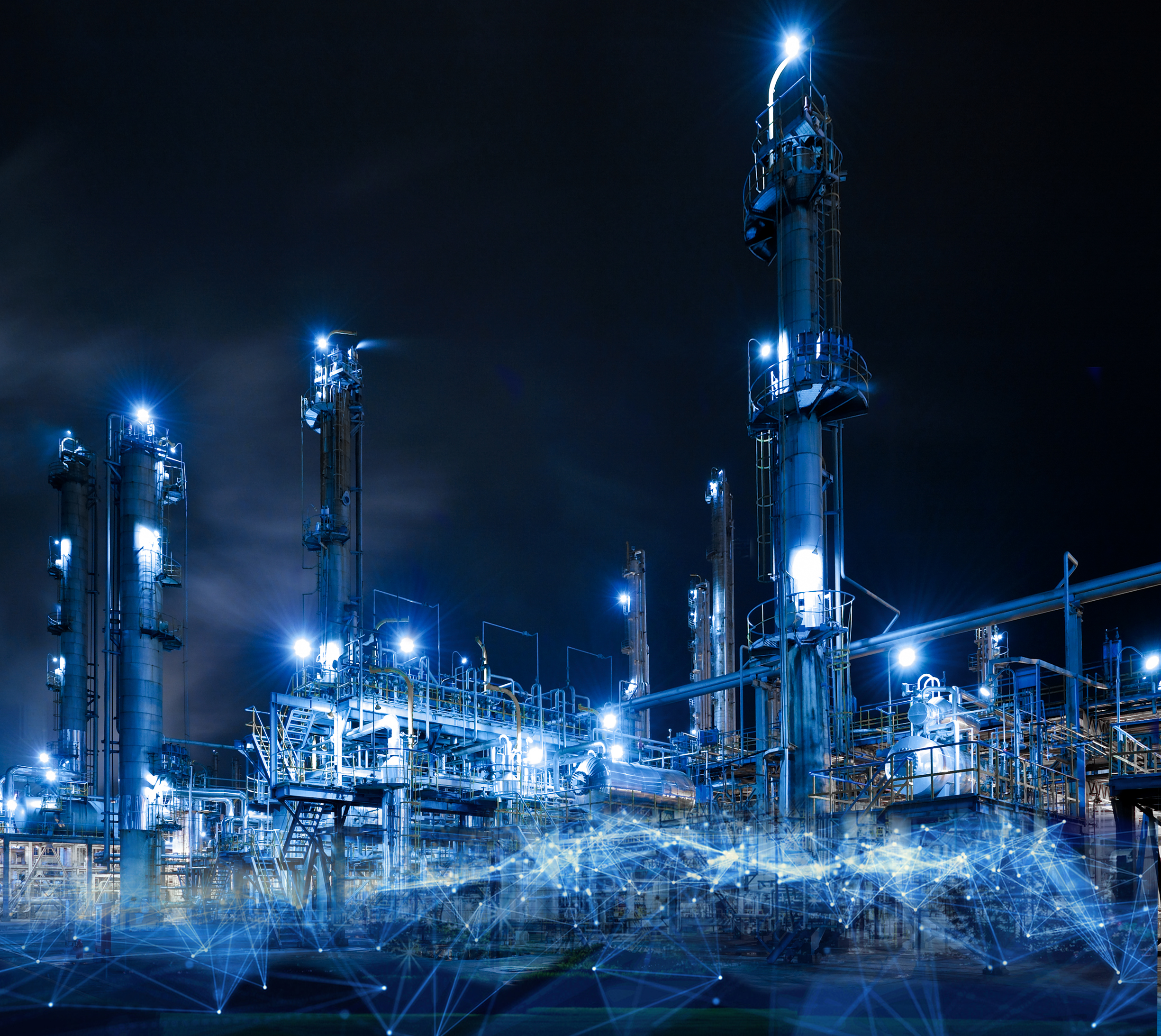 Oil and gas refinery