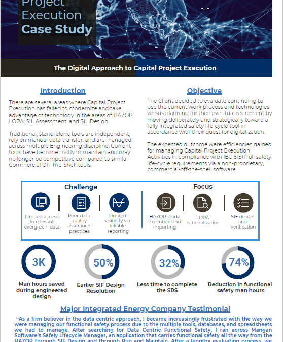 Capital Project Execution Case Study
